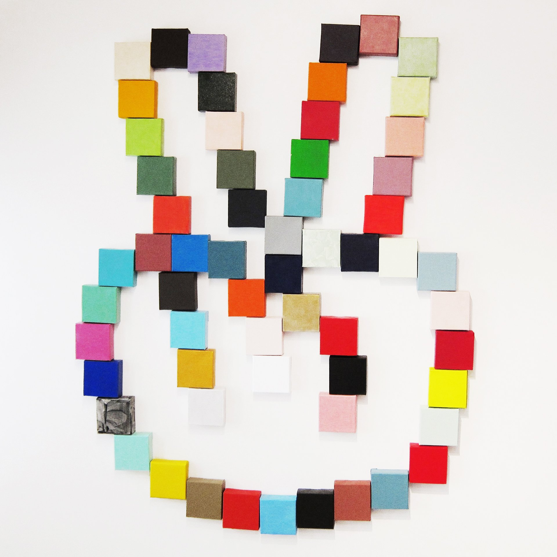abstract hand color blocks