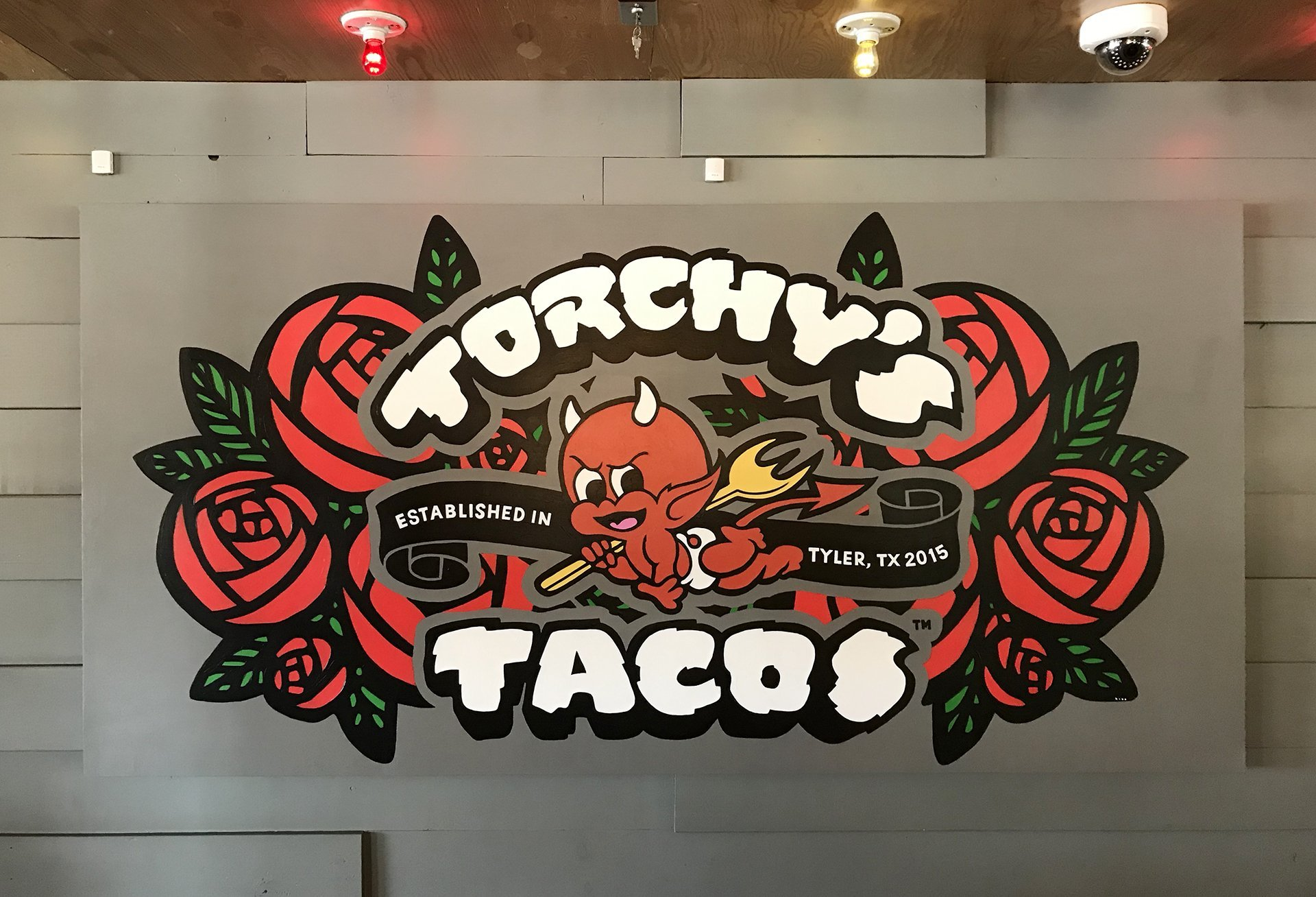 Torchy's Tacos painting