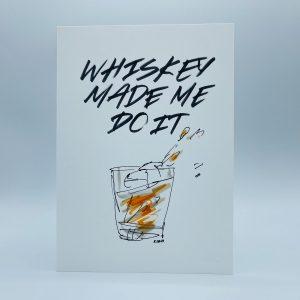 Dace Kidd, drawing, bourbon